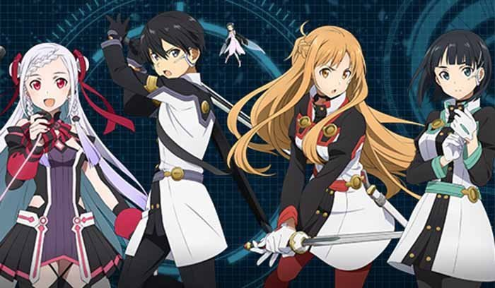 Ordinal Scale Main Characters