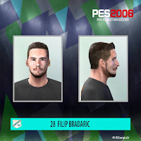 PES 6 Faces Filip Bradarić by El SergioJr