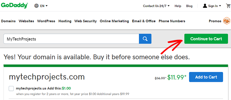daftarkan nama domain