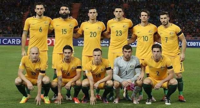 Australia Piala Dunia 2018