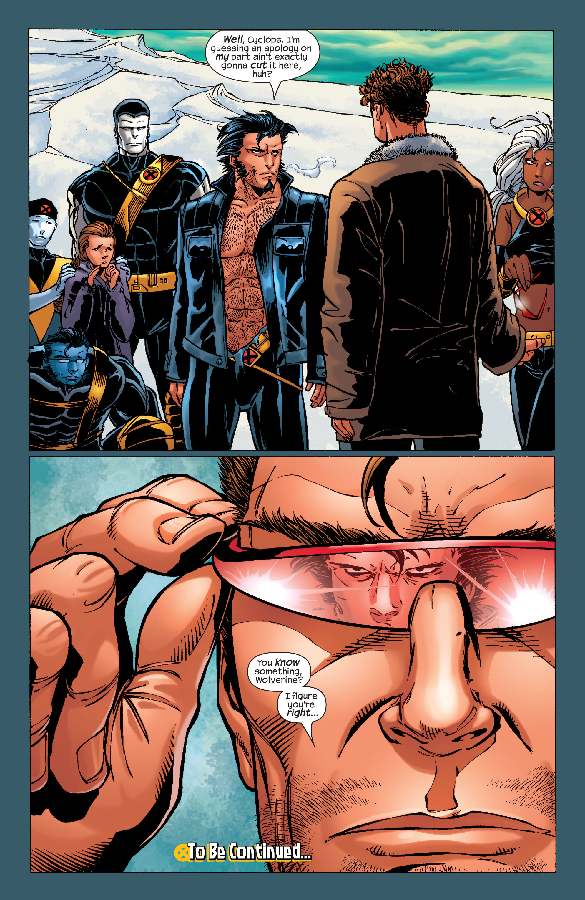 Read online Ultimate X-Men comic -  Issue #31 - 22