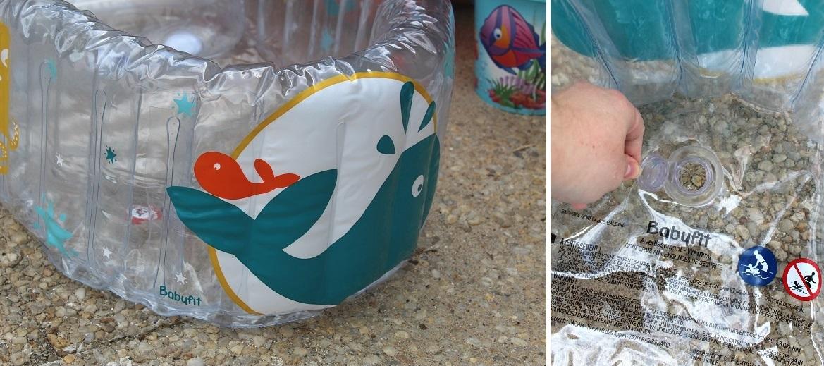 Aire de jeux gonflable avec piscine for Auchan piscine gonflable