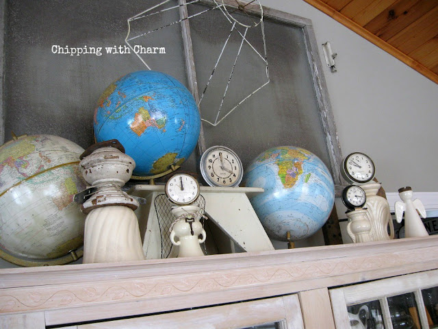 Chipping with Charm: Repurposed Clock and Vase Angels...www.chippingwithcharm.blogspot.com