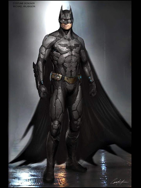 Diseño alternativo del traje de Batman