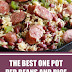 The Best One Pot Red Beans and Rice #onepot #ricerecipes