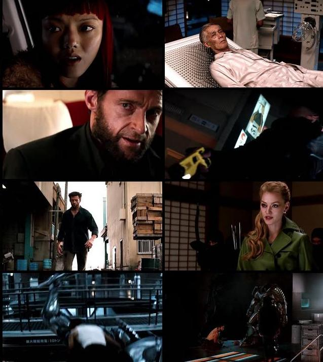 The Wolverine 2013 Hindi Dubbed 720p BluRay