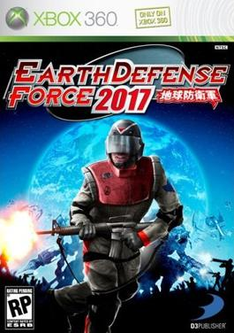 Earth defense force 2017 box art - The Earth Defense Force 2017 For XBOX 360