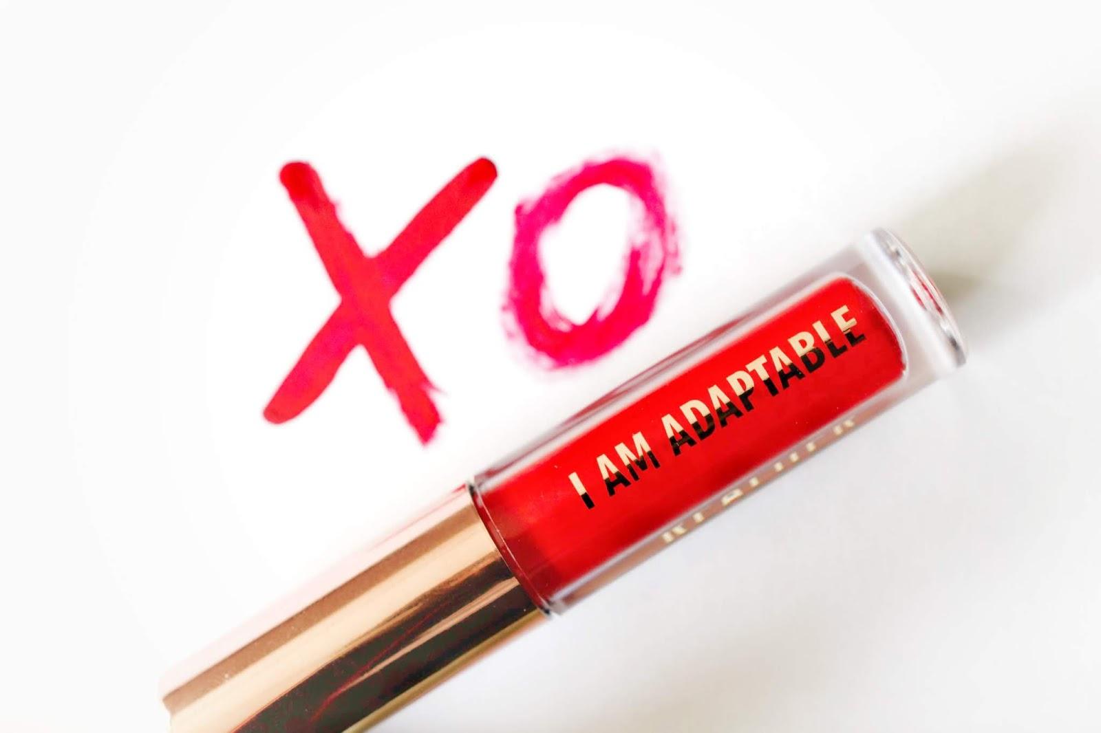 lipstick i am adaptable red lip