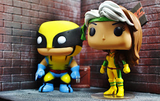 Custom funko pop rogue wolverine x-men