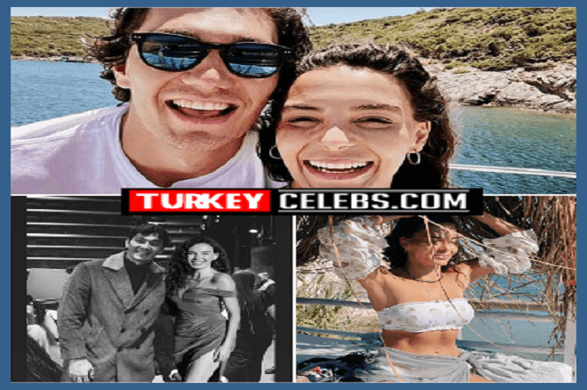 Love frames from Ebru Şahin and Cedi Osman 2020