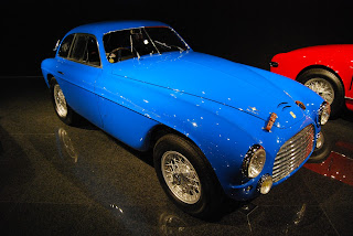 A Ferrari 195S Berlinetta similar to the one in which Marzotto won his first Mille Miglia in 1950