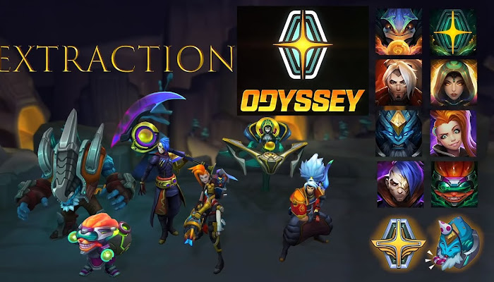 Odyssey Event Trailer - Extraction - League of Legends | LoL