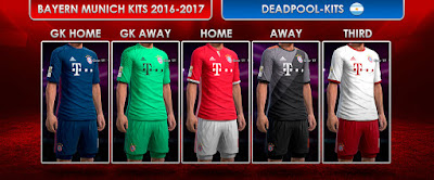 Bayern Munich Kits 2016-17 by DEADPOOL-Kits