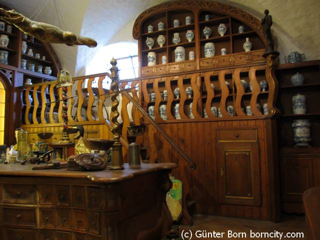 Apothekerschrank / Apothekenmuseum-Heidelberg