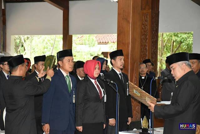 84 Pejabat Kebumen Dilantik