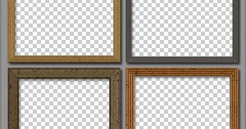 DesignEasy: Free PSD Wooden Frames
