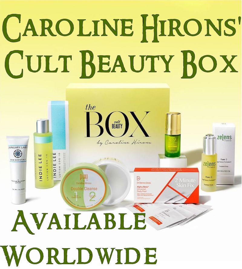 The Caroline Hirons Cult Beauty Box 2017 is now available, with free international tracked shipping.
