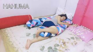 Gối ôm bà bầu chữ U giúp mẹ bầu tìm được tư thế ngủ tốt nhất