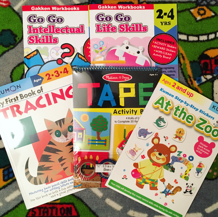 Exercise workbooks busy books for toddlers