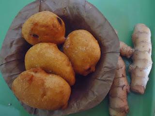 Homemade Amadar Chop - Mango ginger fritters