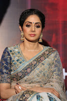 Sri Devi in designer saree stunning beauty at the launch of MOM movie Trailer~  Exclusive 029.JPG