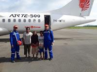 Tiga Nelayan Lambu yang Terdampar di NTT Kembali ke Bima