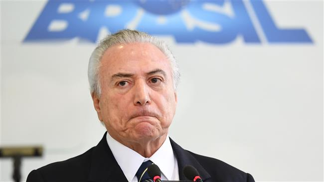 Brazil's President Michel Temer caught in hush money scandal
