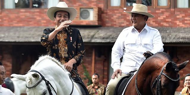 Jokowi-Gatot Dan Prabowo-Anies Bakal Bersaing Ketat Di Pemilu 2019