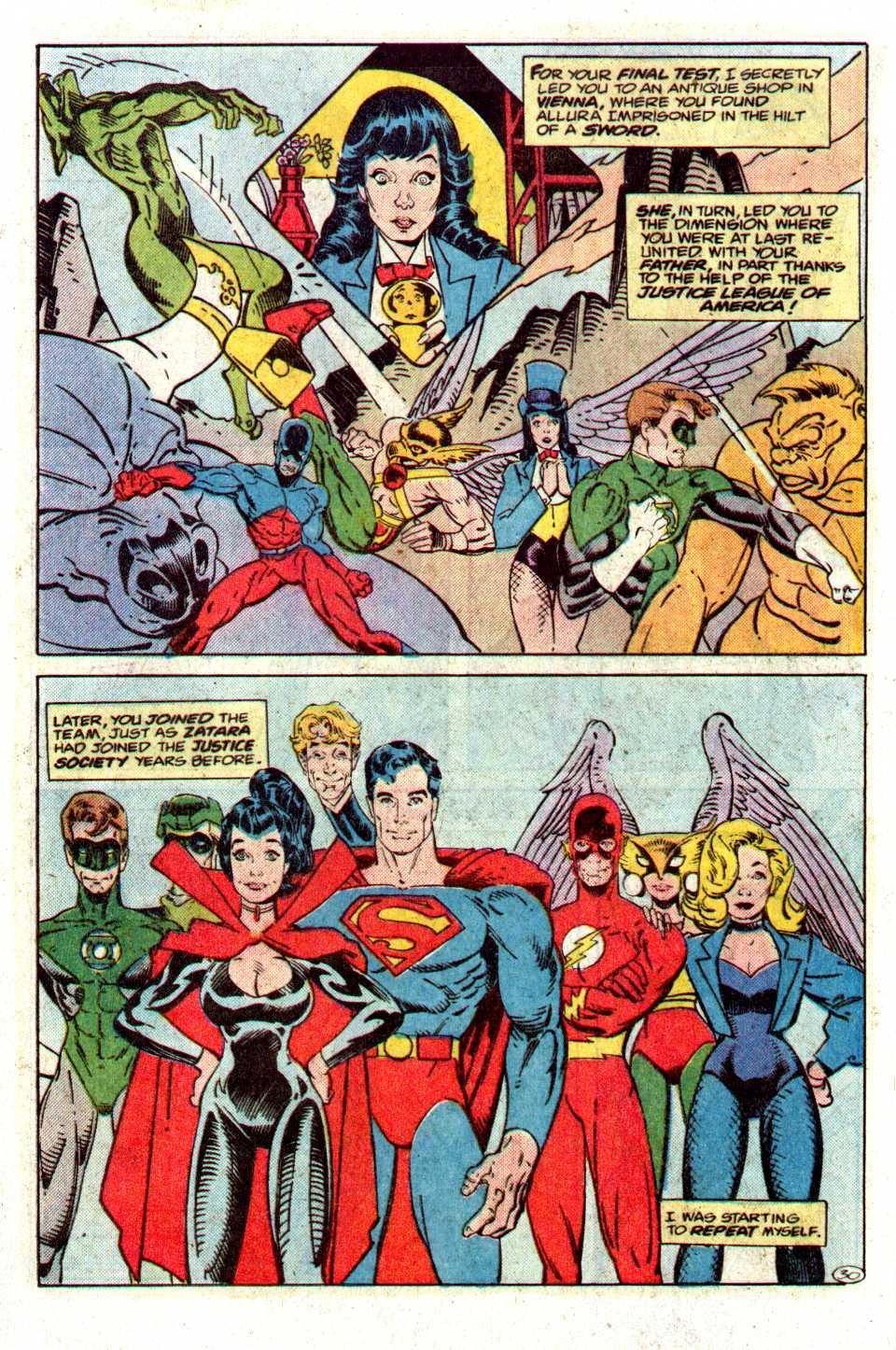 Read online Secret Origins (1986) comic -  Issue #27 - 31