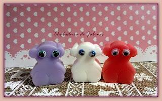 Jabón-natural-glicerina-oso-con-ojos-Chaladura-de-jabones