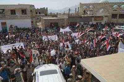 شاهد المظاهرات والحشد الشعبي اليوم في جزيرة سقطرى