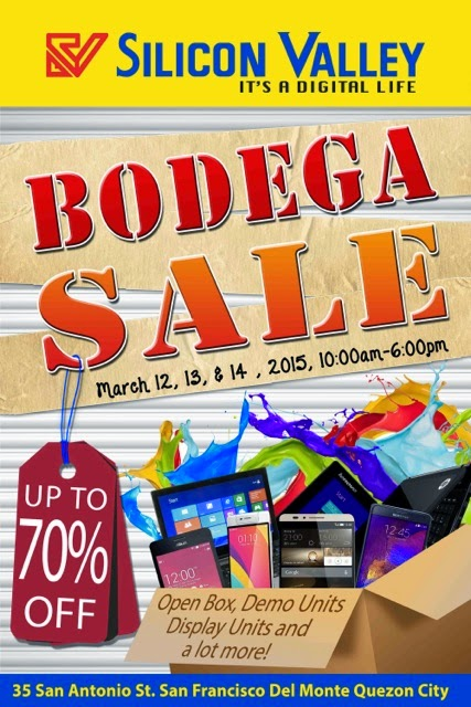 2015 Silicon Valley Bodega Sale