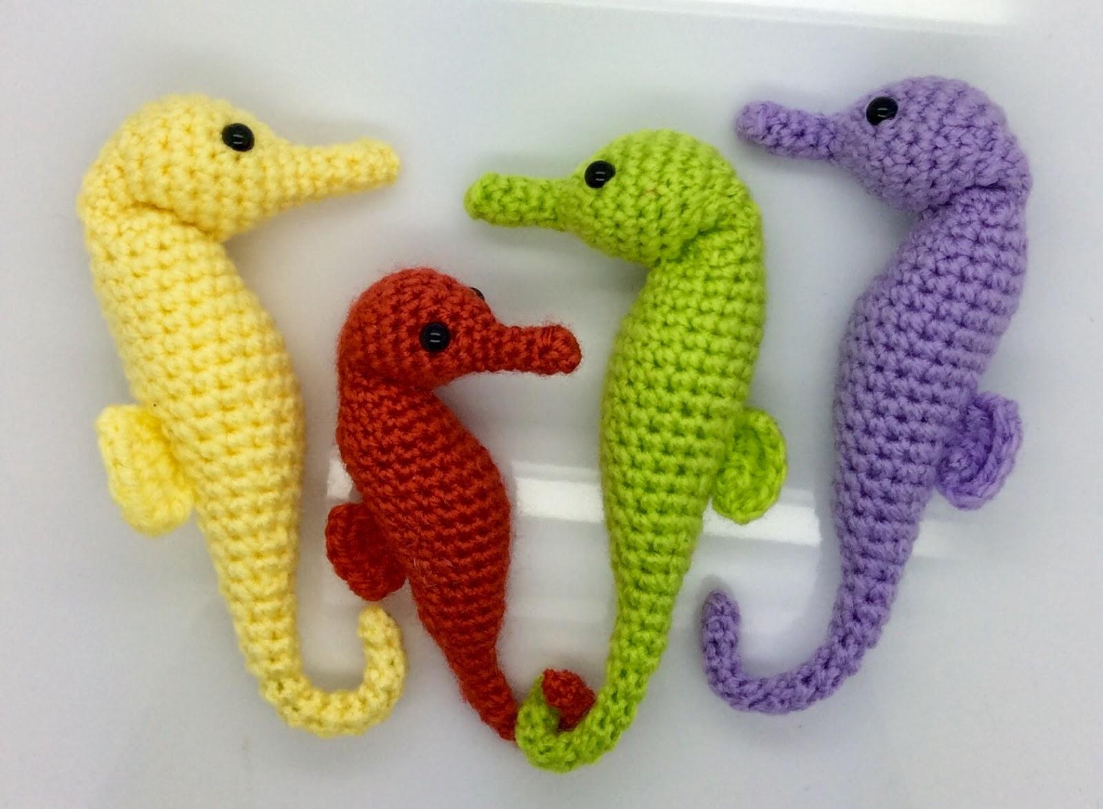 Häkelblog Täglich Neue Anleitungen Seepferdchen Häkelanleitung