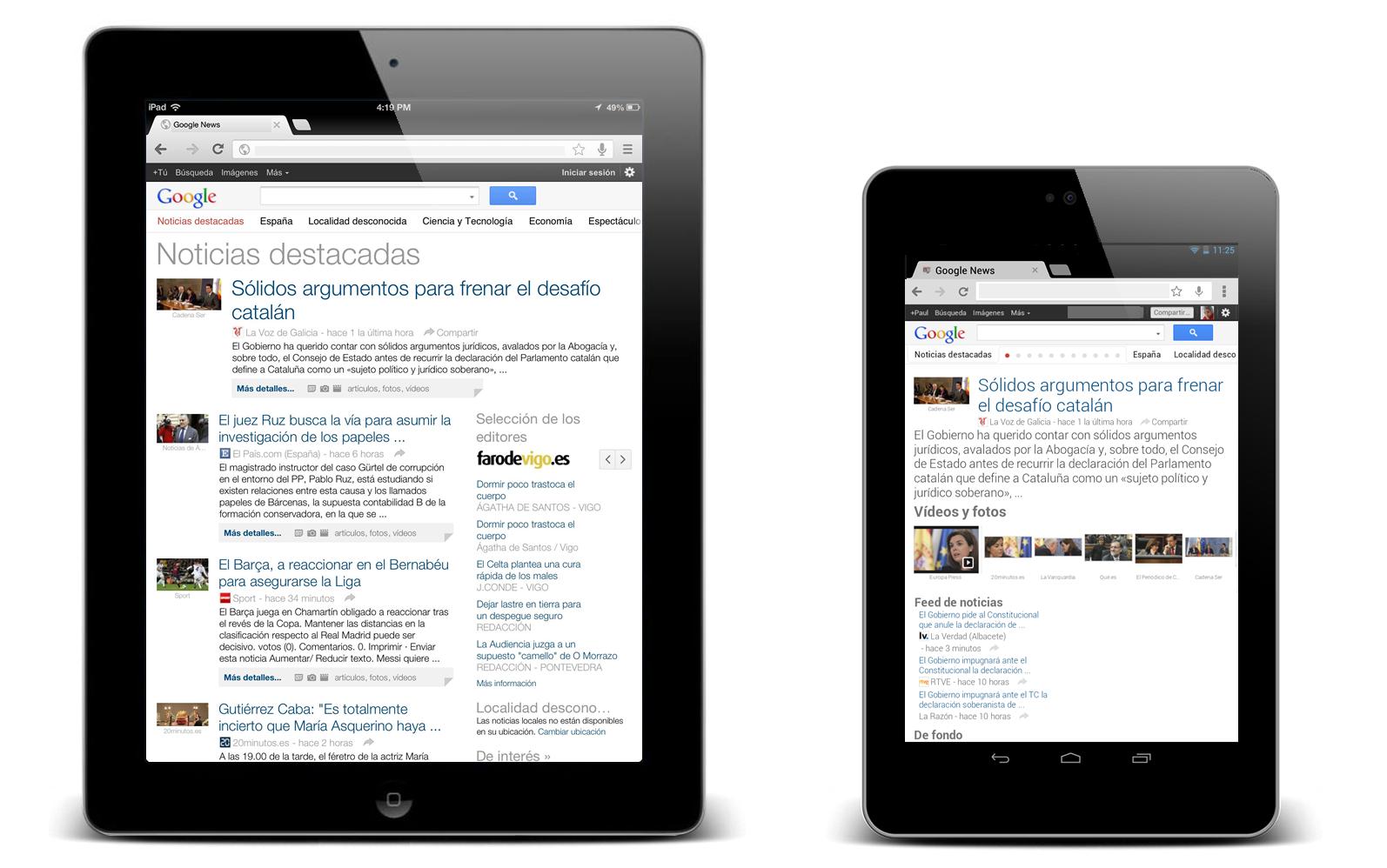Esto es Google: Una mejor experiencia de Google News en las tablets