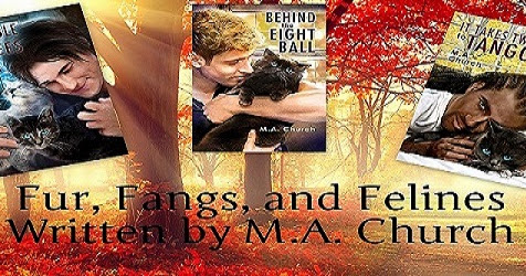 SPOTLIGHT POST - FUR, FANGS, AND FELINES SERIES BY M.A. CHURCH