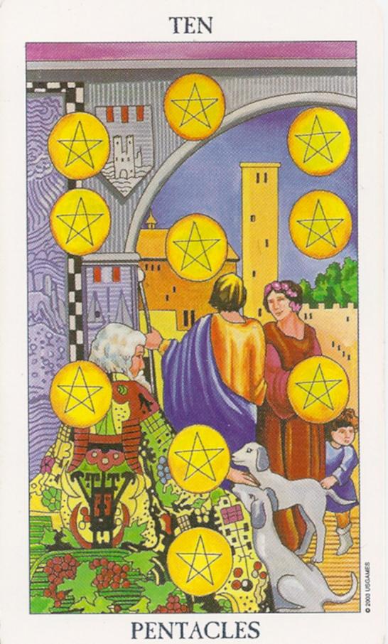 10 of Pentacles  Wealth and inheritance  | Kundalini Surge