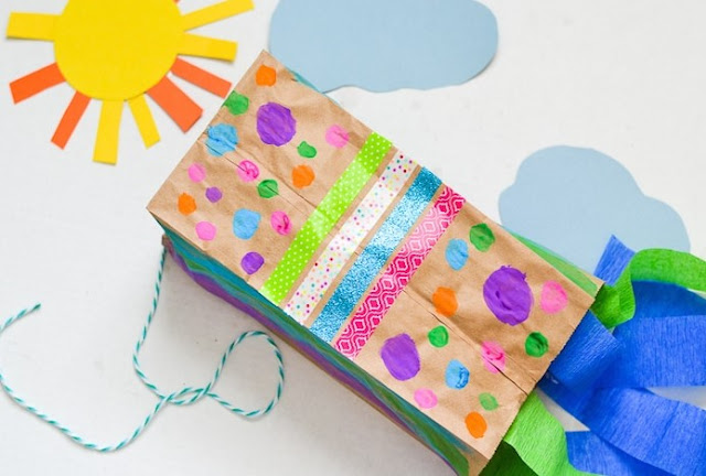 Kite Crafts For Preschool Activity