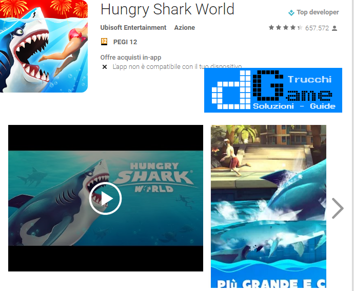 Trucchi Hungry Shark World Mod Apk Android v1.8.2