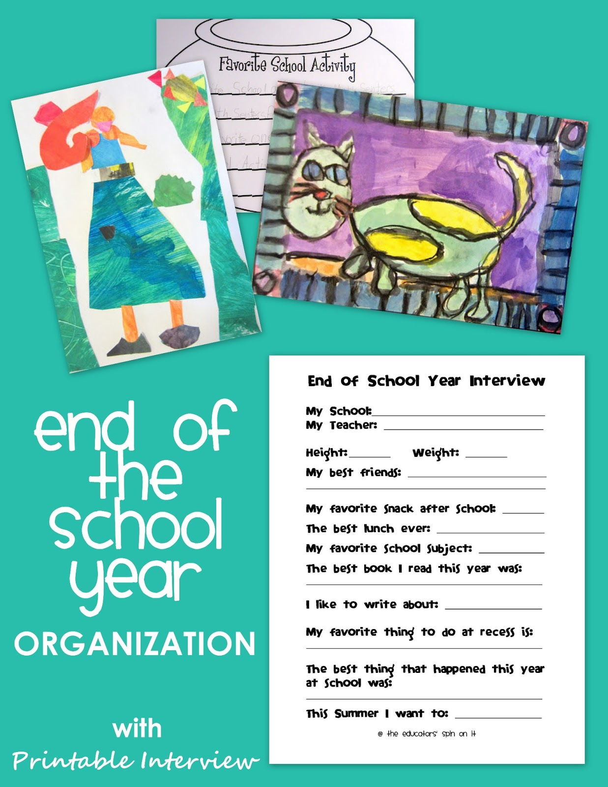 The Educators Spin On It End Of The School Year