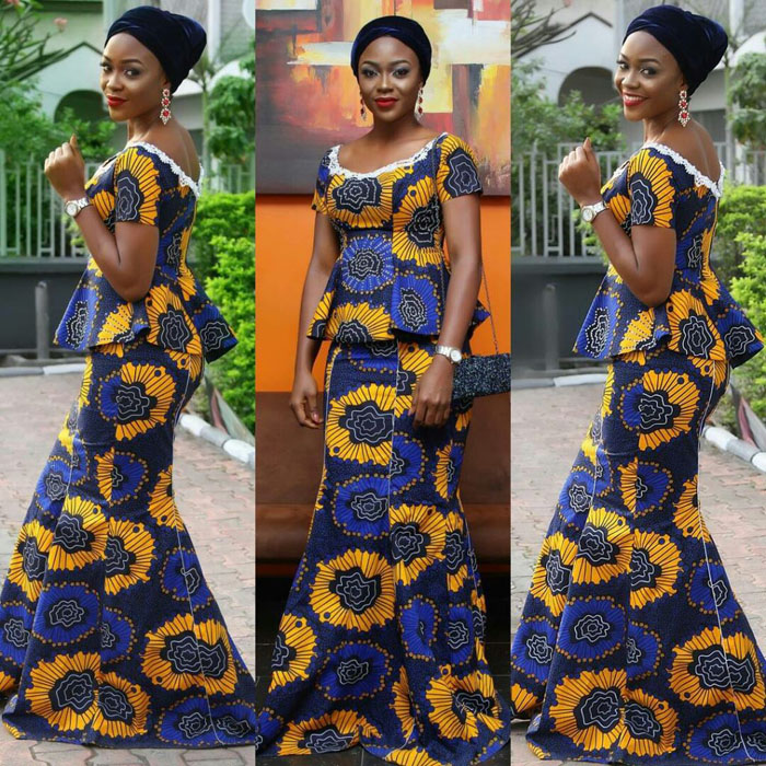 Latest Ankara Outfit For Ladies