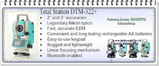 Toko total station Nikon dtm 322 3  322 5 Terdekat di kota anda