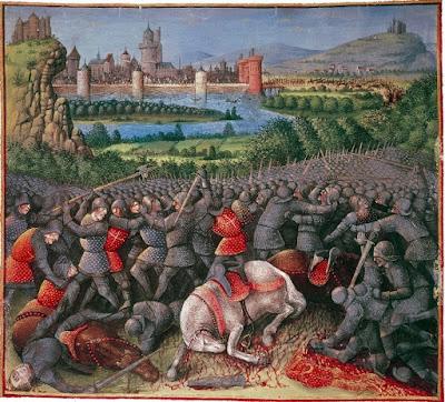 Lukisan peristiwa sejarah perang salib