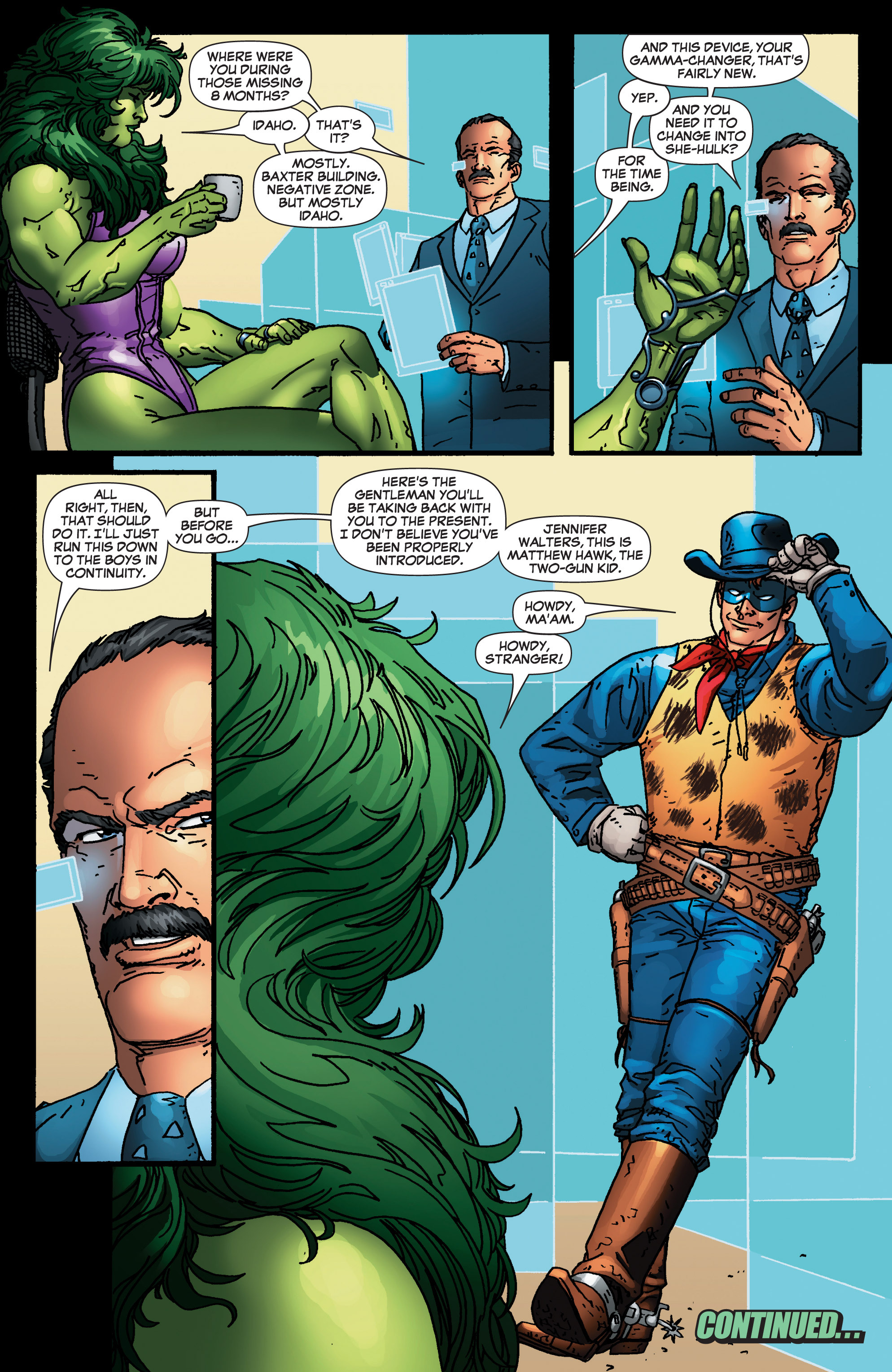 Read online She-Hulk (2005) comic -  Issue #4 - 23
