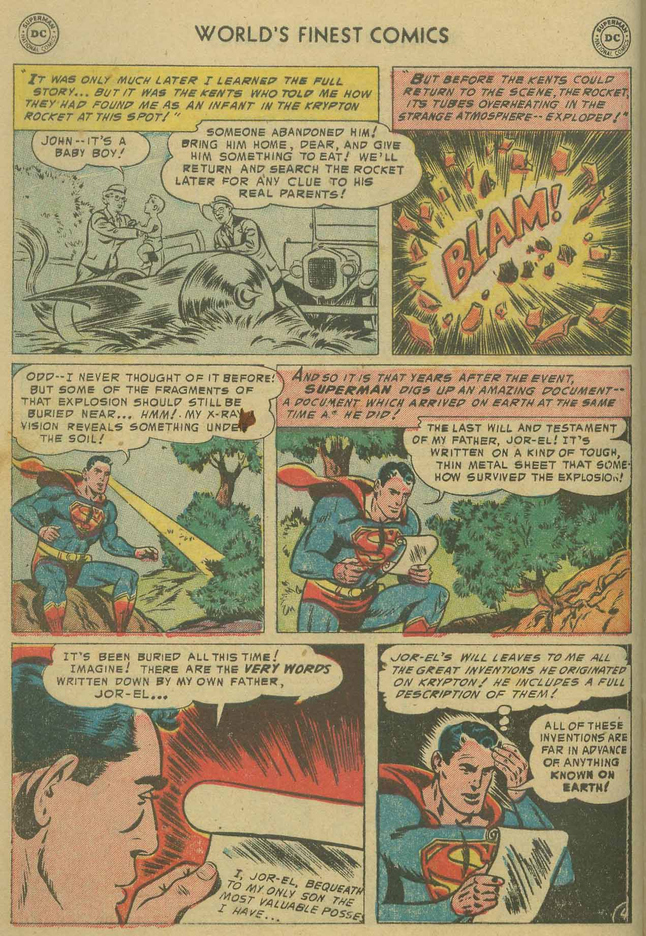 Read online World's Finest Comics comic -  Issue #69 - 6