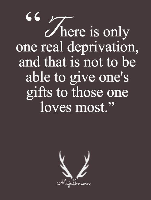 Love Deprivation