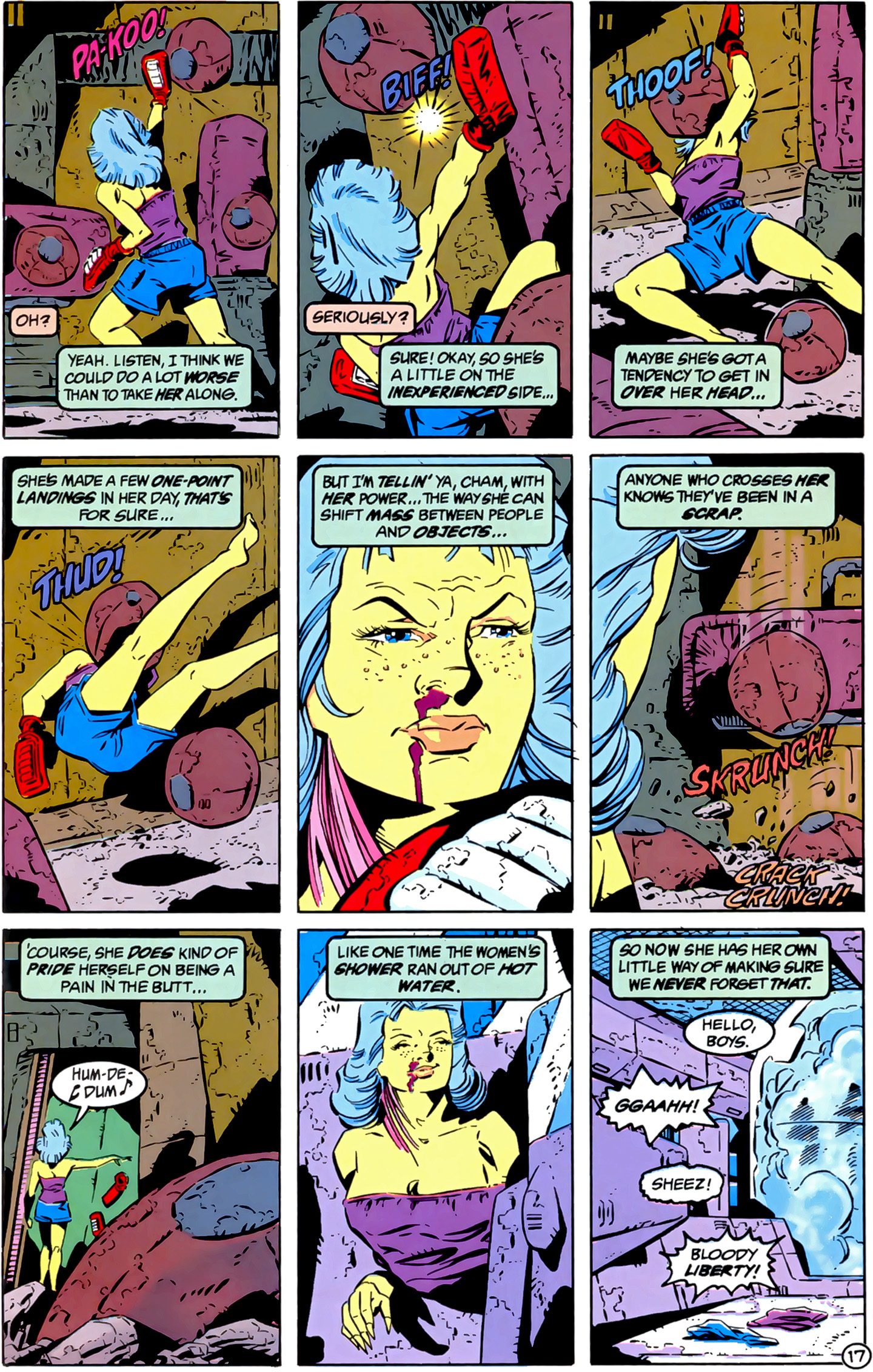 Legion of Super-Heroes (1989) 3 Page 17