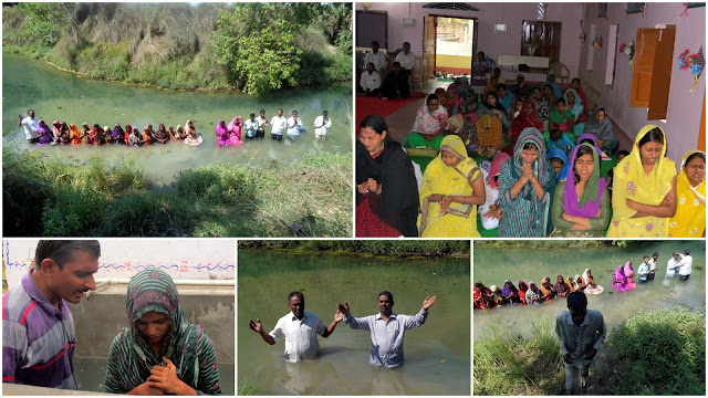 Bhojpuri People Turn to Jesus and Take Baptism   Gospel Echoing     image