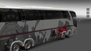 Bus – Marcopolo G7 1600LD Real Madrid