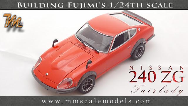 Nissan / Datsun 240ZG Fairlady scale model
