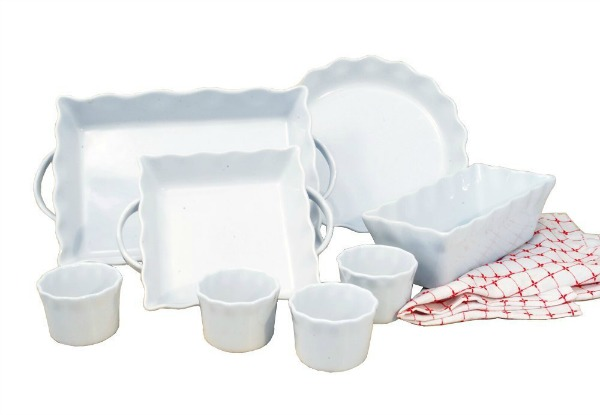 Baking Set - 8 Piece Ceramic